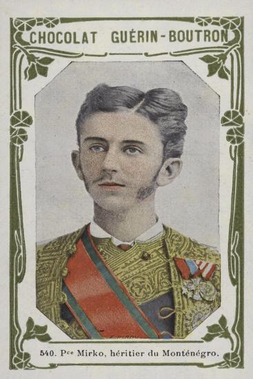 Prince Mirko, Heritier Du Montenegro--Giclee Print