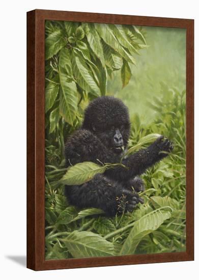 Prince of the Virungas-Michael Jackson-Framed Giclee Print