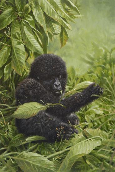 Prince of the Virungas-Michael Jackson-Giclee Print