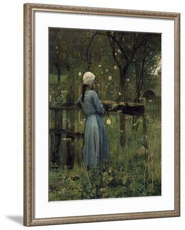 Prince or Shepherd (Prince ou Berger)-William Stott of Oldham-Framed Giclee Print