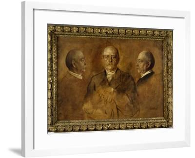 Prince Otto Von Bismarck, 1884-Franz Seraph von Lenbach-Framed Giclee Print
