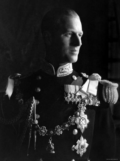 Prince Philip, Duke of Edinburgh, Earl of Merioneth and Baron Greenwich, Married to the Queen-Cecil Beaton-Photographic Print