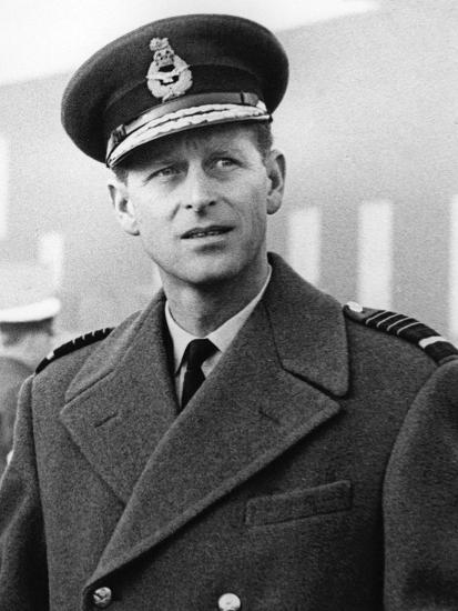 Prince Philip in uniform-Associated Newspapers-Photo