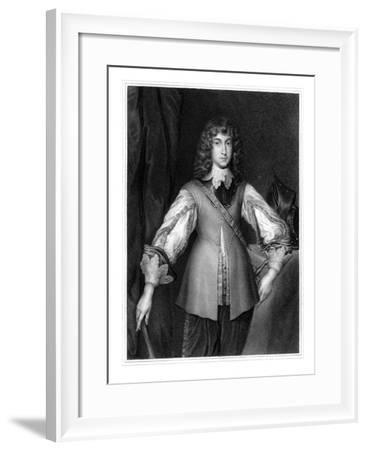 Prince Rupert, Royalist Cavalry Commander of the English Civil War-J Cochran-Framed Giclee Print