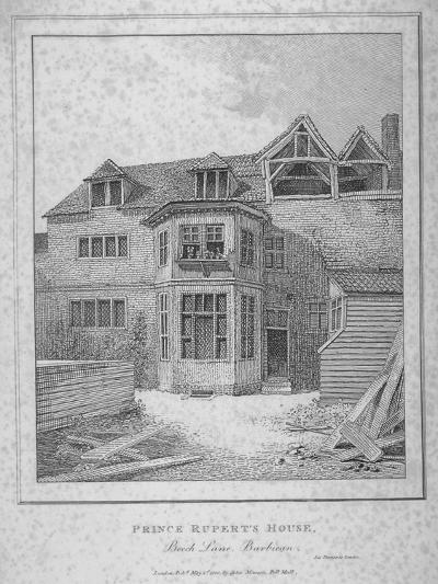 Prince Rupert's House, Beech Street, City of London, 1800--Giclee Print