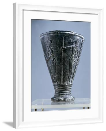 Prince's Vase', in Black Steatite, from Aghia Triadha--Framed Giclee Print