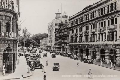 Prince Street in Colombo--Photographic Print
