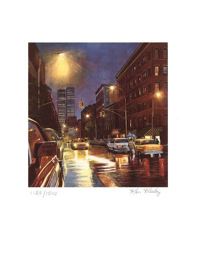 Prince Street-Ken Keeley-Serigraph