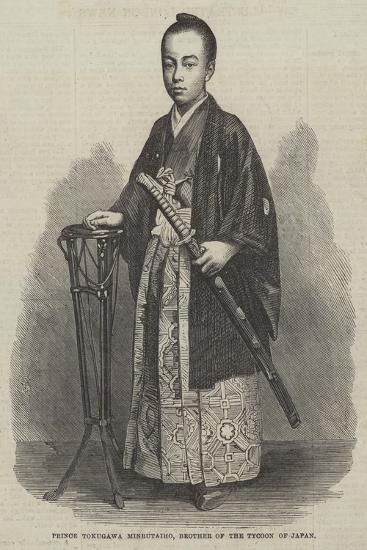 Prince Tokugawa Minbutaiho, Brother of the Tycoon of Japan--Giclee Print