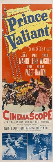 Prince Valiant, 1954--Art Print