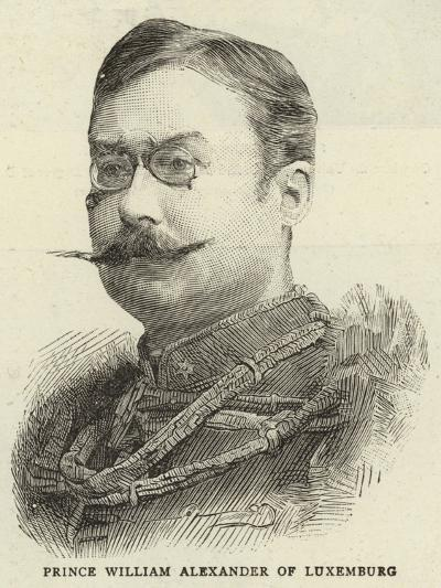 Prince William Alexander of Luxemburg--Giclee Print