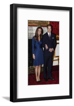 Prince William and Kate Middleton, Announcing their Engagement and Forthcoming Royal Wedding.
