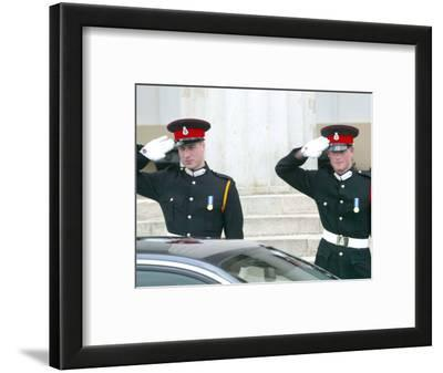 Prince William and Prince Harry, The Sovereign's Parade 2006