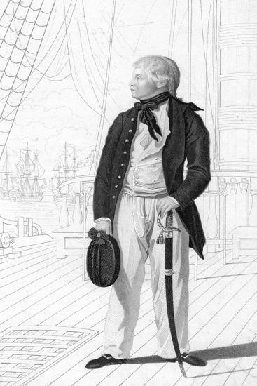 Prince William Henry as a Midshipman on Board the 'Prince George-R Page-Giclee Print