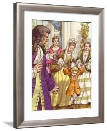 Prince William Was Unable to Walk Unaided at the Age of Five-Pat Nicolle-Framed Giclee Print