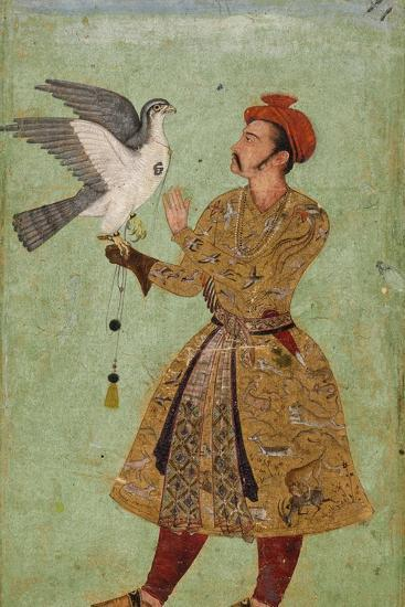 Prince with Falcon--Art Print