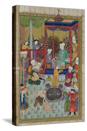 Princely Reception, Illustration from the Shahnama