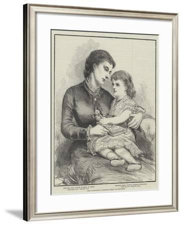 Princess Alice and Her Daughter--Framed Giclee Print