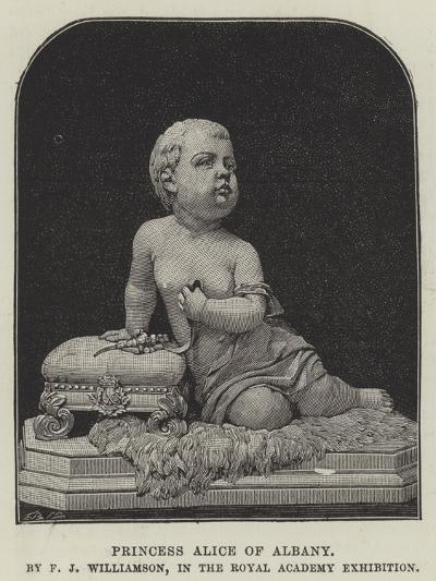 Princess Alice of Albany, by F J Williamson, in the Royal Academy Exhibition--Giclee Print