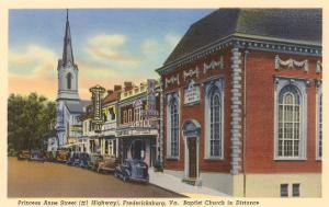 Princess Anne Street, Fredericksburg, Virginia