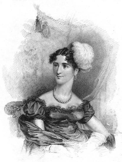 Princess Augusta, Duchess of Cambridge, 1818-J Alais-Giclee Print