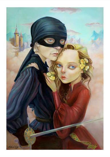 Princess Bride-Leslie Ditto-Art Print