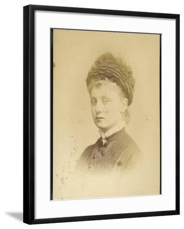 Princess Caroline Mathilde of Schleswig-Holstein--Framed Photographic Print
