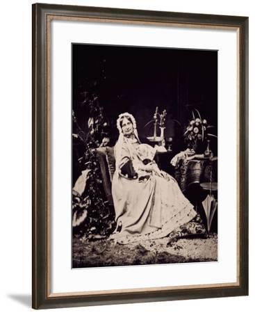 Princess Carolyne Zu Sayn-Wittgenstein--Framed Giclee Print