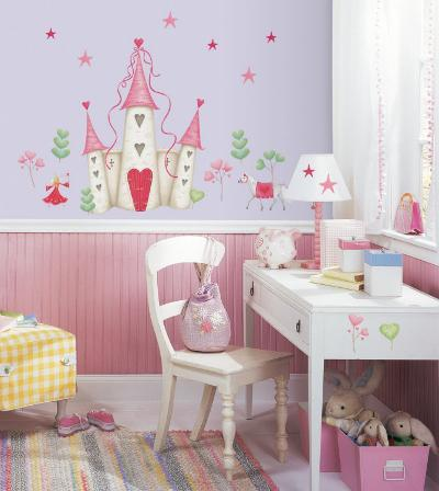 Princess Castle--Wall Decal