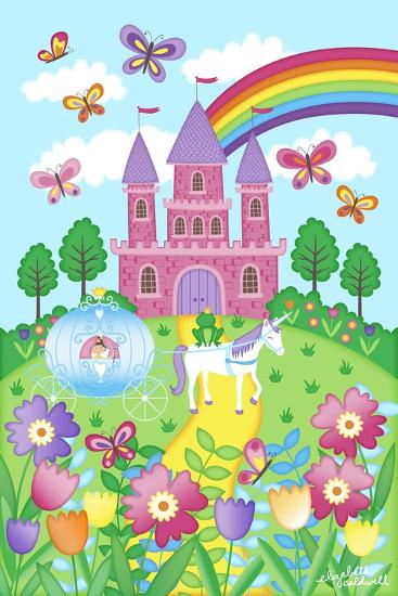 Princess Castle-Elizabeth Caldwell-Giclee Print