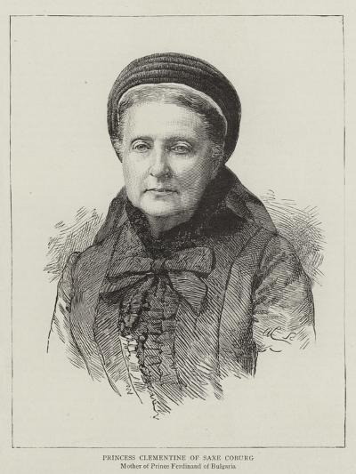 Princess Clementine of Saxe Coburg--Giclee Print