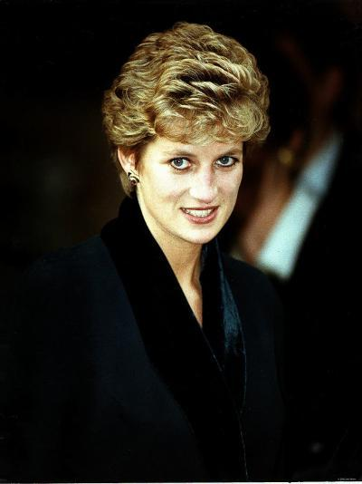 Princess Diana at the Relaunch of Birthright Charity November 1993--Photographic Print