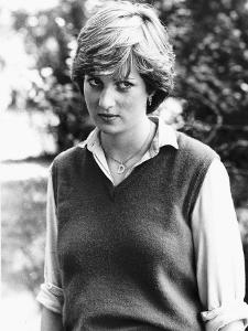 Princess Diana Before Marrying the Prince of Wales September 1980