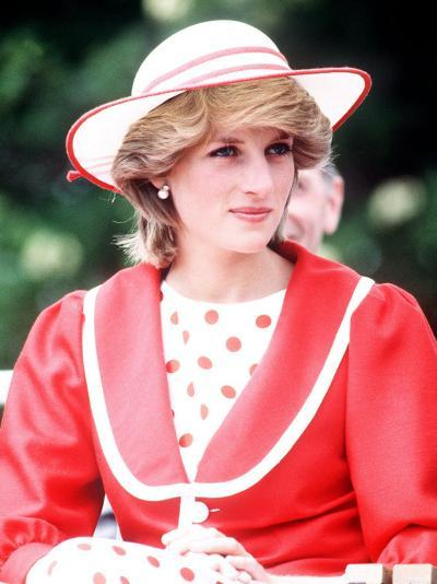 Princess Diana in Canada at the Festival of Youth in St Johns Newfoundland June 1983--Photographic Print