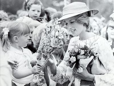 Princess Diana of Wales Visit to Open the Fisher Price Toy Factory in Peterlee--Photographic Print