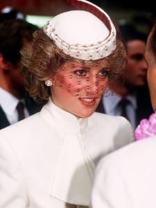 Princess Diana Opens the World Travel Market in Olympia November 1985