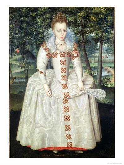 Princess Elizabeth 1603-Robert Peake-Giclee Print