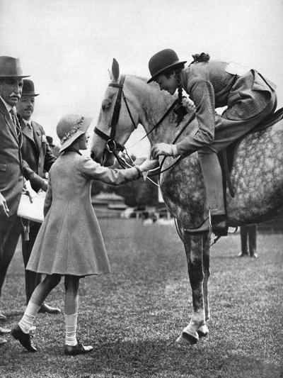 Princess Elizabeth at Children's Day, Richmond Horse Show, C1936--Giclee Print