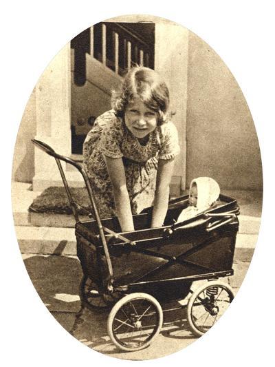 Princess Elizabeth, Future Queen Elizabeth II of Great Britain, Windsor, 1930S--Giclee Print