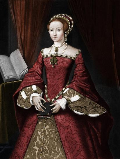 Princess Elizabeth, later Queen', c1547, (1902)-Unknown-Giclee Print