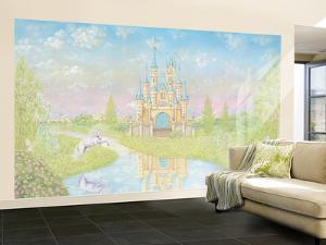 Princess Large Huge Mural Art Print Poster