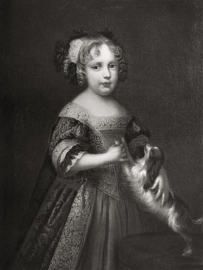 Princess (Later Quee) Anne, C1670-1675-John Riley-Giclee Print