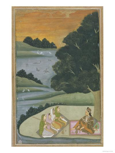 Princess Listening to Female Musicians, India--Giclee Print
