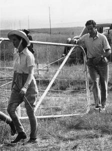 Princess Margaret and Group Captain Peter Townsend at Harrismith During Royal Tour of South Africa