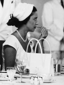 Princess Margaret at Luncheon During Her East Africa Tour in 1956