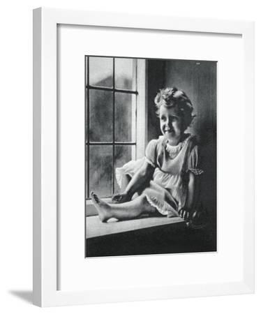 Princess Margaret at St Paul's Waldenbury, Hampshire, 1932--Framed Giclee Print