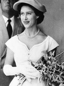 Princess Margaret Celebrating Her Birthday. Date Unknown