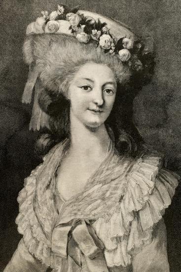 Princess Marie Louise of Savoy (1749-1792)--Giclee Print