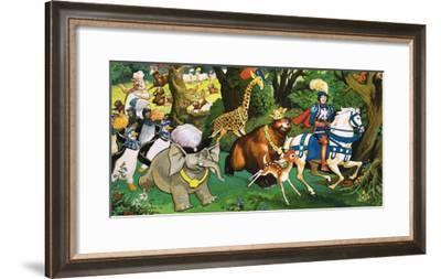 Princess Marigold and the Magic Spell-Giorgio Bellavitis-Framed Giclee Print