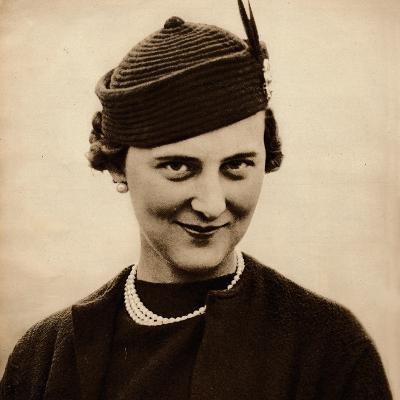 Princess Marina became engaged to King George Vs youngest son, Prince George (now Duke of Kent), w--Photographic Print